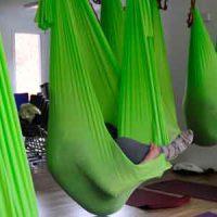 Yoga im Tuch - Aerial Yoga